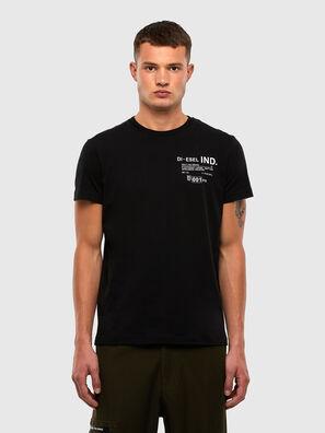 T-DIEGOS-N21, Black - T-Shirts