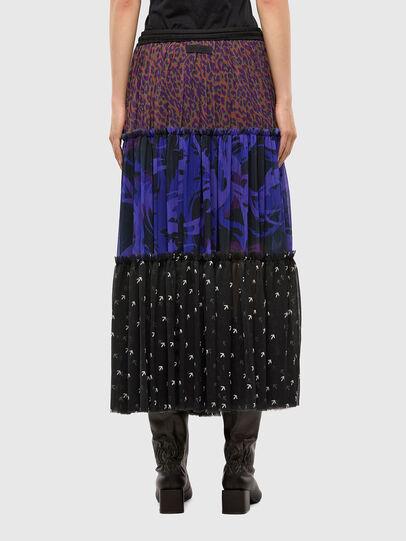 Diesel - O-ILARY, Blue/Black - Skirts - Image 2