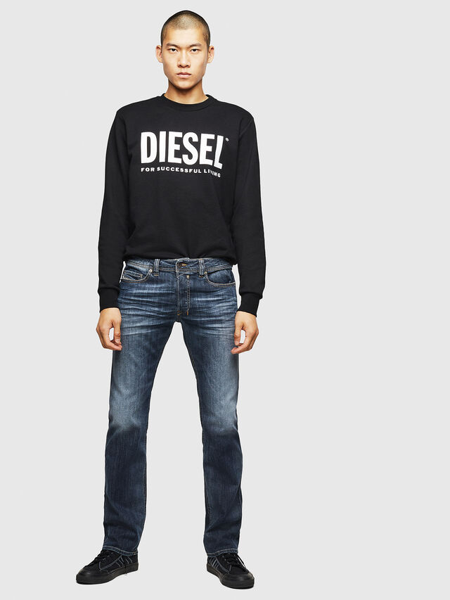 Diesel Safado 0885K, Dark Blue - Jeans - Image 5