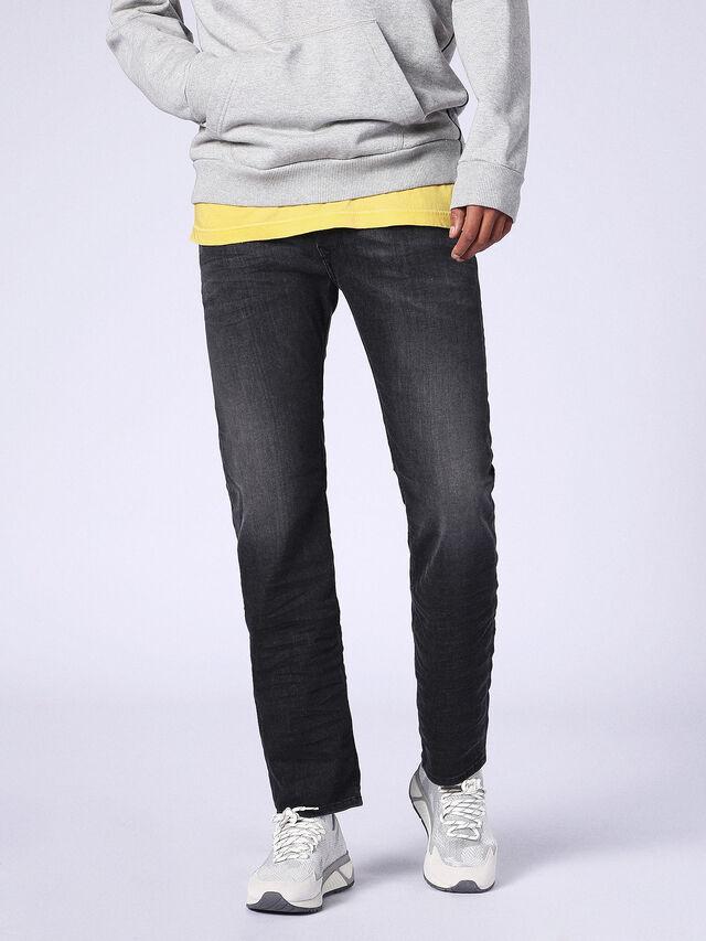 Diesel - Waykee 0687J, Black/Dark grey - Jeans - Image 4