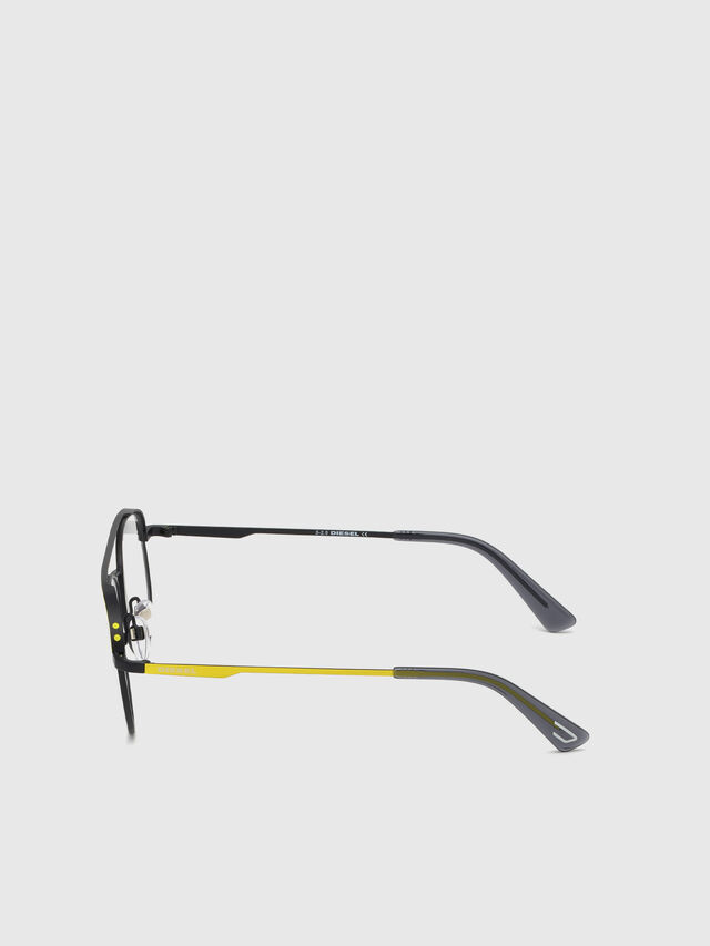 Diesel - DL5305, Yellow - Eyeglasses - Image 3
