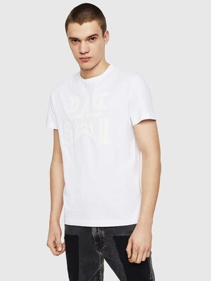 T-DIEGO-A8, White - T-Shirts