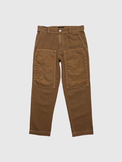 Diesel - PTRENT, Brown - Pants - Image 1