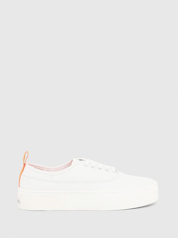 S-VANEELA LOW, White/Orange - Sneakers
