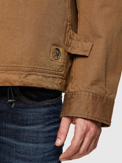 Diesel - J-COAL-COT, Light Brown - Jackets - Image 3