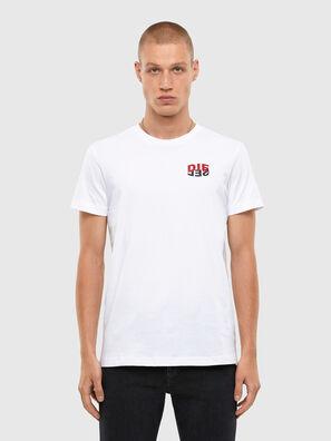 T-DIEGOS-N25, White - T-Shirts