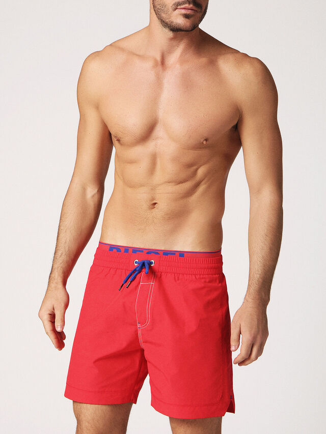 Diesel BMBX-DOLPHIN-S 2.017, Red - Swim shorts - Image 1