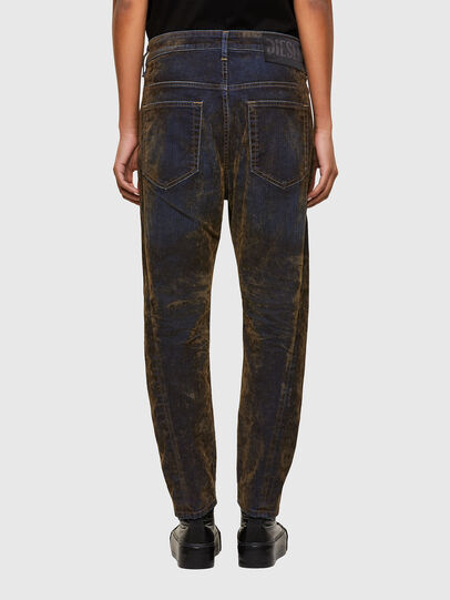 Diesel - Fayza 069RQ, Blue/Yellow - Jeans - Image 2