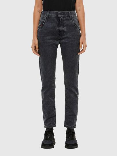 Diesel - Krailey JoggJeans 069QB, Black/Dark grey - Jeans - Image 1