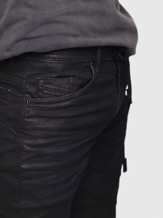 Diesel Thommer JoggJeans 0688U, Black/Dark grey - Jeans - Image 2