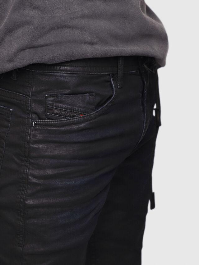 Diesel - Thommer JoggJeans 0688U, Black/Dark grey - Jeans - Image 3