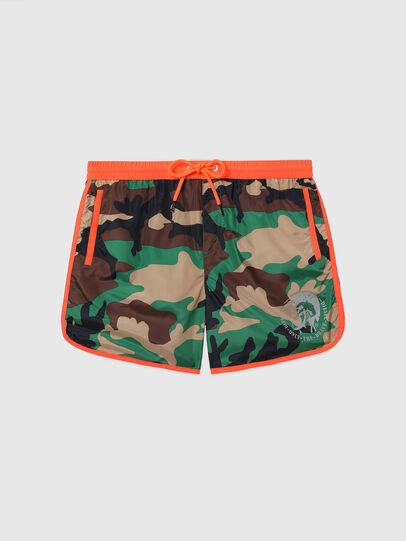 Diesel - BMBX-REEF-40, Green Camouflage - Swim shorts - Image 4