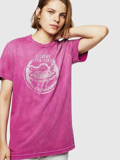 Diesel - T-FLAVIA-IA, Pink - T-Shirts - Image 1