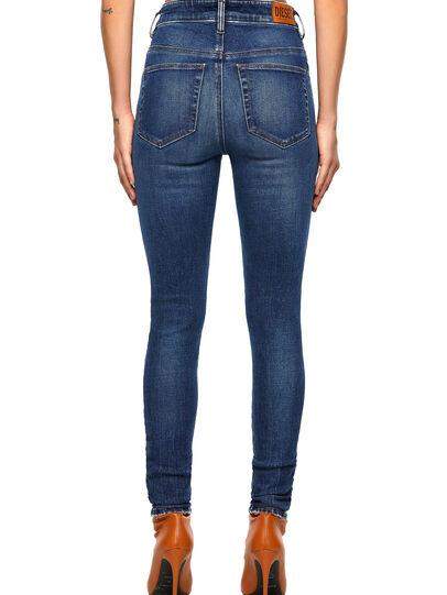 Diesel - Slandy High 009ZX, Dark Blue - Jeans - Image 2