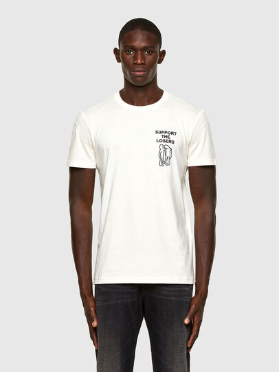 Diesel - T-DORYMO-A1, White - T-Shirts - Image 1