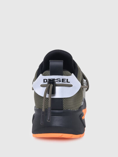 Diesel - S-KB UP LACE, Military Green - Sneakers - Image 6