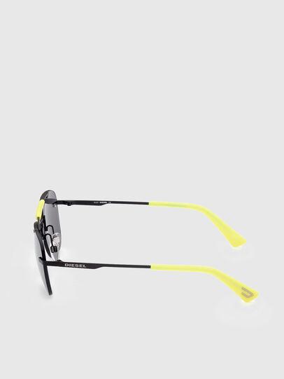 Diesel - DL0340, Black/Yellow - Sunglasses - Image 3