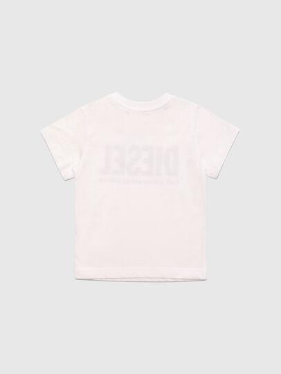 Diesel - TJUSTLOGOB, White - T-shirts and Tops - Image 2