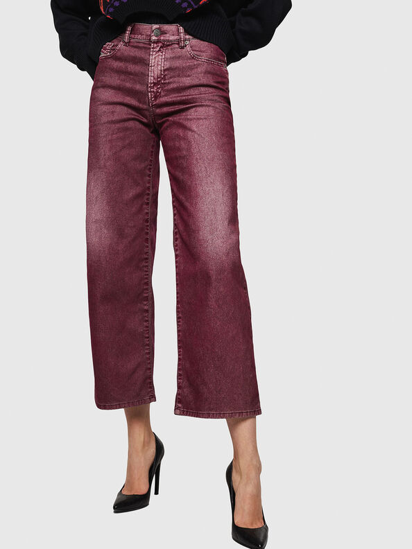 Widee 0091T, Burgundy - Jeans