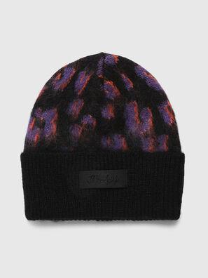 K-TAYLER, Black/Violet - Knit caps