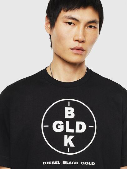 Diesel - TEORIALE-B, Black - T-Shirts - Image 3