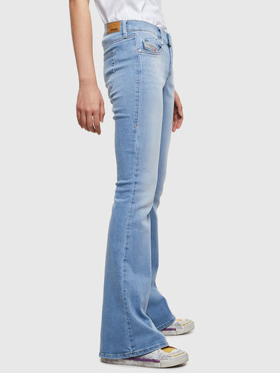 Diesel - D-Ebbey 0095D, Light Blue - Jeans - Image 3