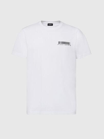 Diesel - T-DIEGOS-X67, White - T-Shirts - Image 1