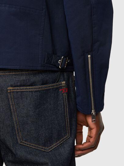 Diesel - J-GLORY, Dark Blue - Jackets - Image 4
