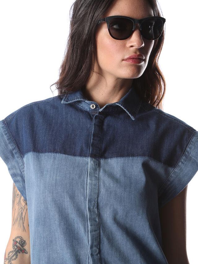 Diesel - DM0192, Dark Blue - Sunglasses - Image 5