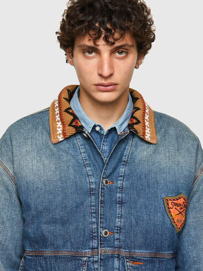 Diesel - DxD-J3, Light Blue - Denim Jackets - Image 4