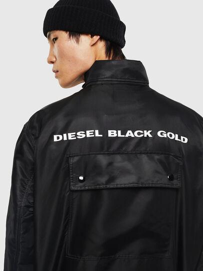 Diesel - J-R-LONG, Black - Jackets - Image 4