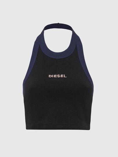 Diesel - UFTK-ASHLY, Black - Tops - Image 1