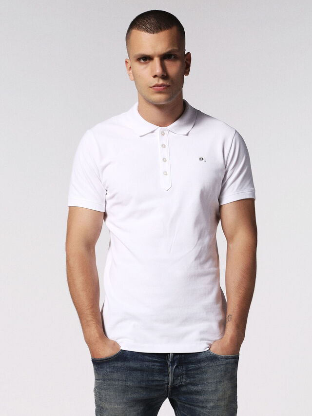Diesel - T-HEAL, White - Polos - Image 2