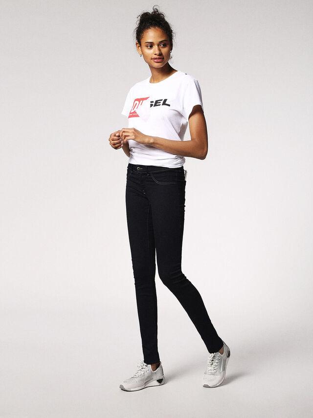 LIVIER 0881B, Black Jeans