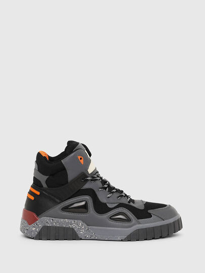 Diesel - S-RUA SP, Dark grey - Sneakers - Image 1