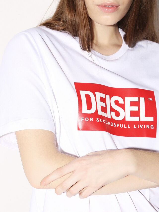 Diesel - DEIS-JUST, White - T-Shirts - Image 8
