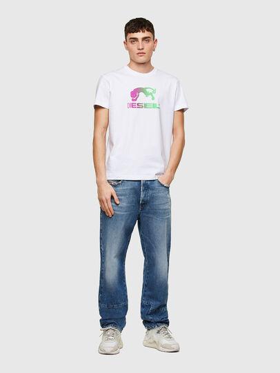 Diesel - T-DIEGOS-E30, White - T-Shirts - Image 4