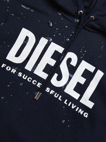 Diesel - S-GIR-HOOD-DIVISION-, Dark Blue - Sweaters - Image 6