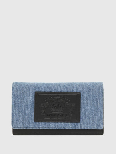 Diesel - DIPSIEVOLUTION, Blue/Black - Small Wallets - Image 1