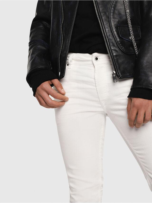 Diesel - Sleenker 084CY, White - Jeans - Image 3