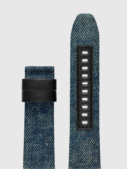 Diesel - DZT0001, Blue Jeans - Smartwatches accessories - Image 1
