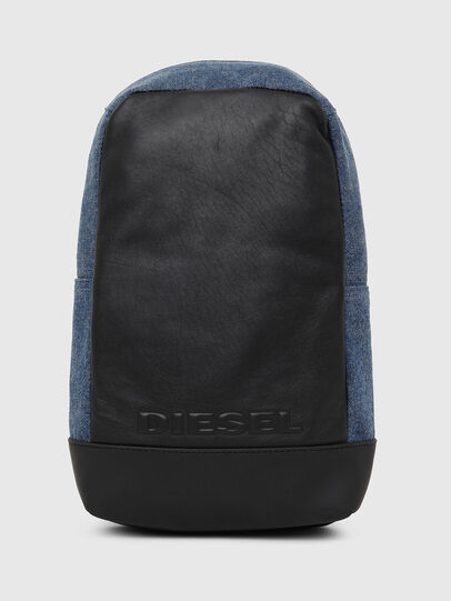 Diesel - F-SUSE MONO, Blue/Black - Backpacks - Image 1