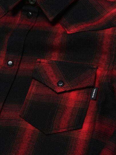 Diesel - CBONNY, Red/Black - Shirts - Image 3