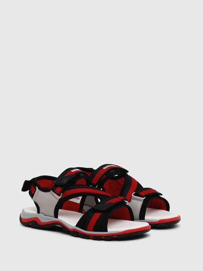 Diesel - SA 07 STRIPE CH, Grey/Red - Footwear - Image 2
