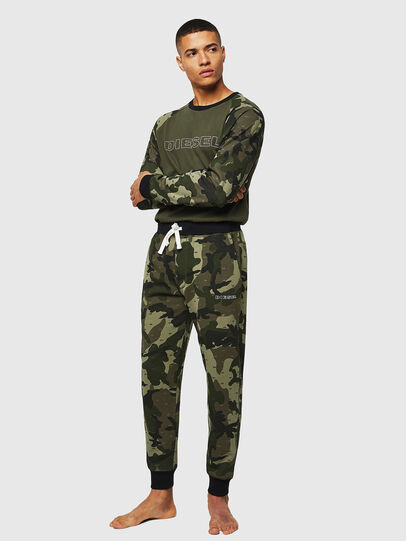 Diesel - UMLT-MAX, Green Camouflage - Sweaters - Image 4