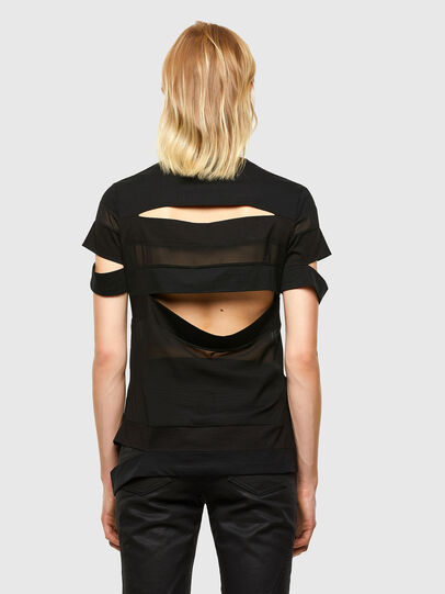 Diesel - T-SLICE, Black - Tops - Image 2