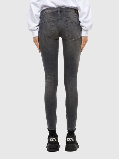 Diesel - Slandy Low 069MY, Black/Dark grey - Jeans - Image 2