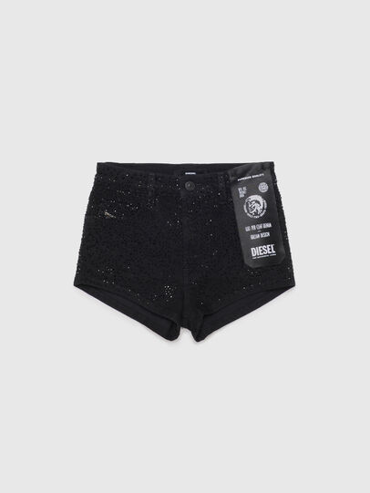 Diesel - PGINGHER, Black/Dark grey - Shorts - Image 1
