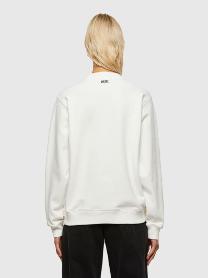 Diesel - F-ANG-R10, White - Sweaters - Image 2