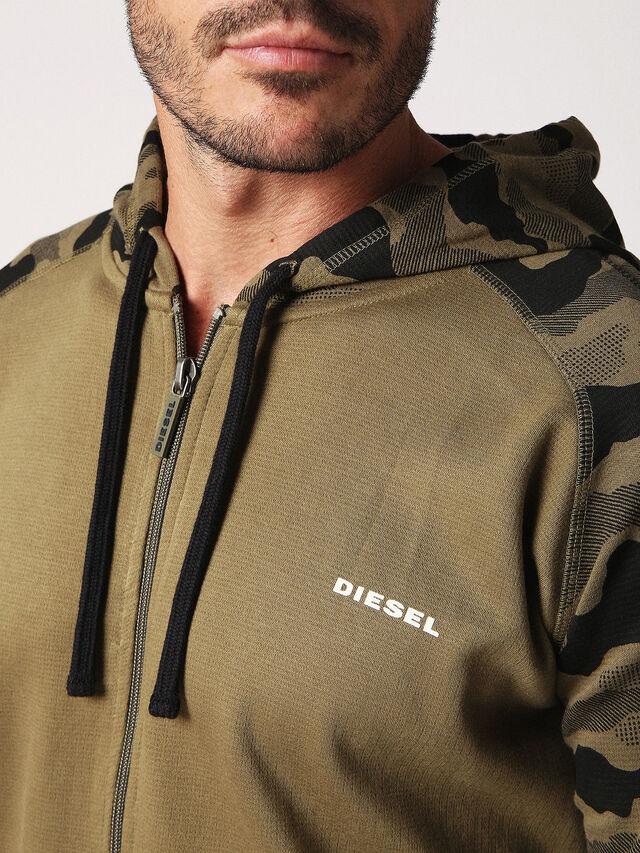 Diesel - UMLT-BRIANZ, Green Camouflage - Sweaters - Image 3
